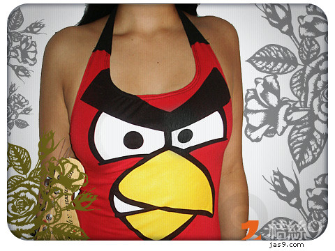 Ladies-Custom-Angry-Bird-2