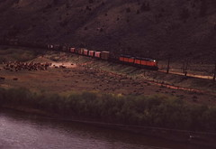 Milwaukee Road (R R Horne) Tags: montana rail railroads cardwell milwaukeeroad