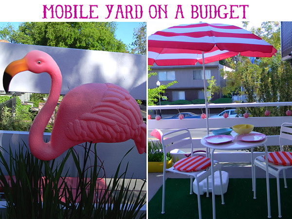 DIY mobile yard on a budget