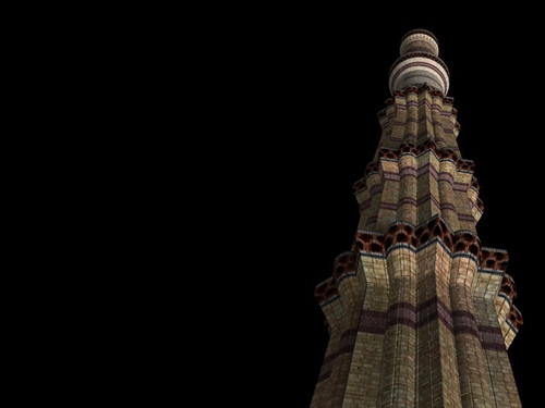 "Qutub Minar • <a style=""font-size:0.8em;"" href=""http://www.flickr.com/photos/30735181@N00/2294626975/"" target=""_blank"">View on Flickr</a>"