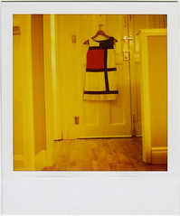[mondrian] (LOV-E) Tags: door love analog polaroid sx70 dress instantcamera landcamera pietmondrian
