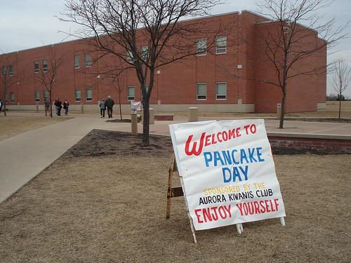 PancakeDaySign
