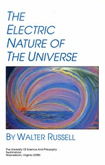 The Electric Nature of The Universe Book Cover (esaruoho) Tags: light inspiration chart spiral russell science divine chemistry elements physics cosmic consciousness octave intuition chemical cosmology implosion revelation scientific periodic centripetal cosmogeny walterrussell merlib