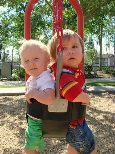 swing buddies.