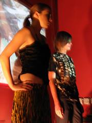 Black & Brown fashion show at A.D. (AstroGirl) Tags: sanjose fashionshow blackandbrown annodominigallery