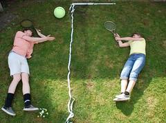 (*party pooper*) Tags: girl tennis tenniscourt dreamsofflying janvonholleben wwwjanvonhollebencom