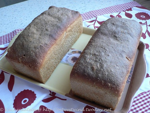Honey Wheat Bread With Poppy Seeds and Lemon 001