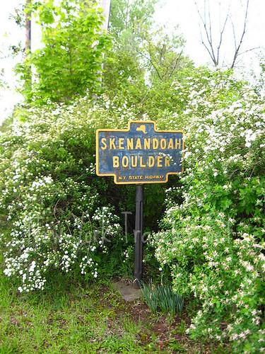 Skenandoah Historic Marker