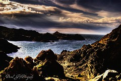 Mar Mediterraneo,Mediterranean Sea.HDR (david A.F Photography) Tags: sea espaa clouds mar spain mediterranean mediterraneo stones girona nubes catalunya espagne hdr catalua rocas altemporda portdelaselva photomatix hdraddicted elmural davidg9photography