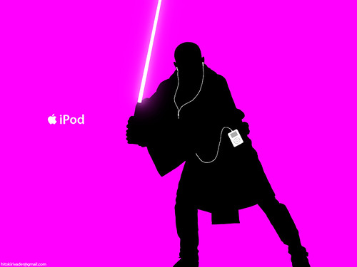 Mace_Windu_iPod_ad_by_hitokirivader