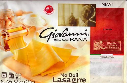 Dave S Cupboard Giovanni Rana Fresh Pasta And Amazing