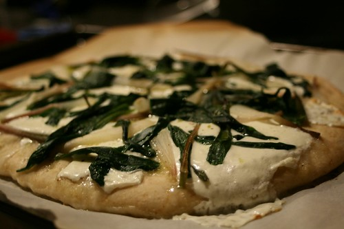 Ramp Pizza with Fresh Mozzerella