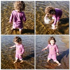 Lily aime l'eau