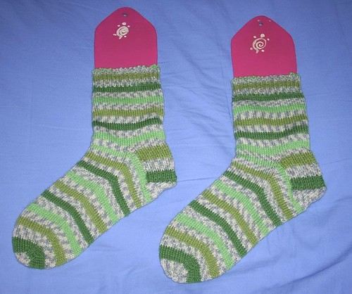 Turtlegirl socks