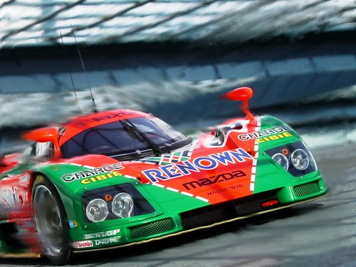 Mazda 787B - Warp Speed