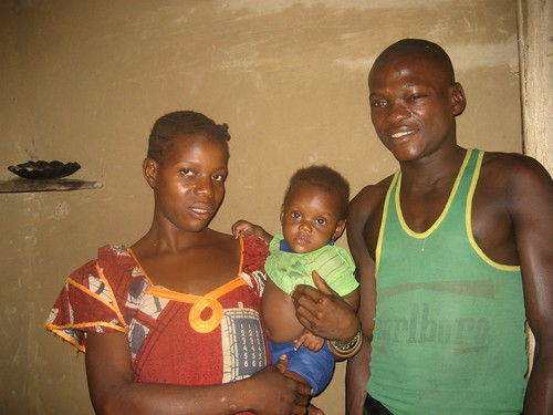 Washie wife and baby