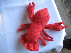 Knit Lobster