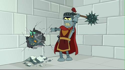 Futurama Juego de Bender troll