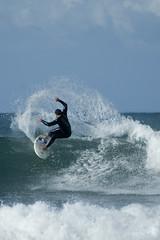 Surfing at Wildside, PE (Darryn van der Walt) Tags: ocean blue sea water southafrica rocks whitewater surf waves barrel wave surfing spray foam surfboard boardshorts splash reef wetsuit easterncape wetsuits portelizabeth wildside cutback darrynvanderwalt