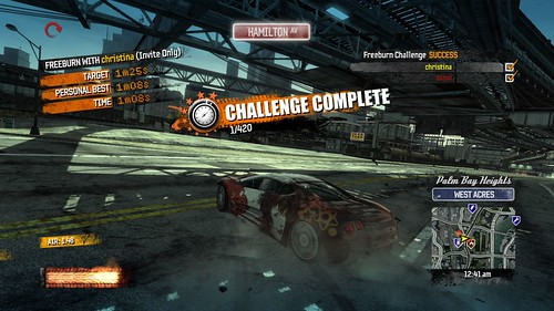 Burnout Paradise Timed Challenges _09