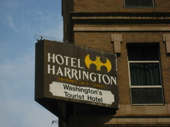 Does the Hotel Harrington Logo Look Familiar?