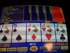 4 jacks in video poker machines