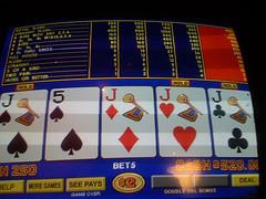 4 jacks in video poker machines