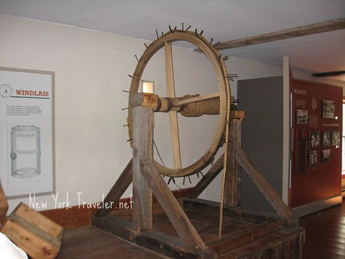 Windlass in Cheese factory