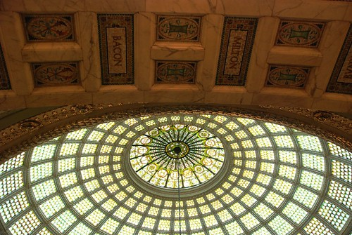 Tiffany Dome restoration: The light is amazing I