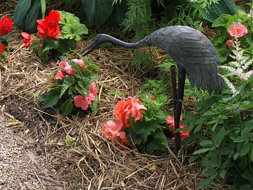 Wrights Sculpture from Japan in Taleisin's Garden