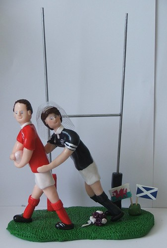 welsh rugby wedding cake topper rugby and groom wedding cake toppers craftjuice 27014