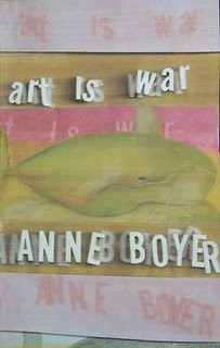 ART IS WAR Anne Boyer Mitzvah Chaps