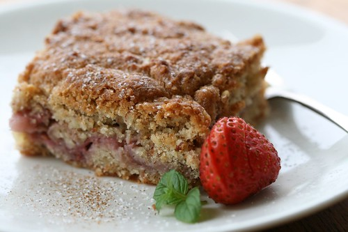 Strawberry and Almond Cake / Maasika-mandlikook