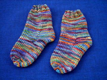 CHILD SOCK KNIT PATTERN Free Knitting and Crochet Patterns
