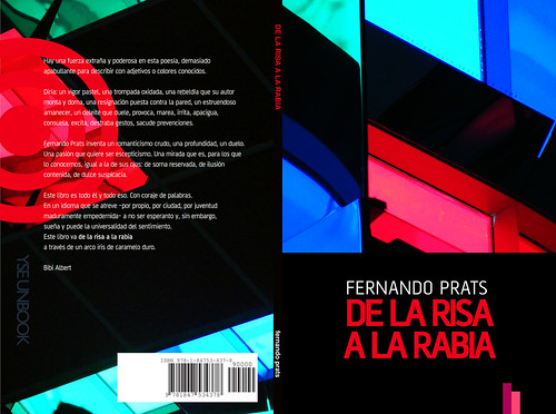 De la risa a la rabia spread (poetry book)
