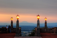 Rocky Butte (Jon Asay ) Tags: park wood sunset st oregon portland joseph butte mt hill rocky helens lamps  nikond40