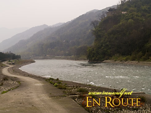 Dujiangyan Min River Flow