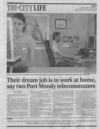 Tri City News - July 30, 2008
