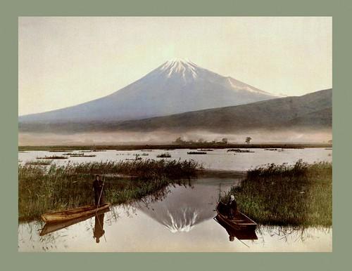 MT. FUJI FROM KASHIWABARA