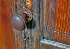 Weathered Door Handle