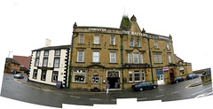 The Battery Hotel on a Very Very Very Dull Day (George D Thompson) Tags: uk england panorama lancashire morecambe stitchingsoftware scenicsnotjustlandscapes thebatteryhotel