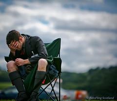 Depressed Kiltie (FotoFling Scotland) Tags: 2008 highlandgames scotland stirlinghighlandgames fav40 explore