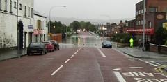 Castlereagh Road, Belfast August 08 floods