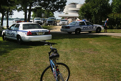 Sunday Bike Ride Interrupted by Tragedy at the Monona Terrace