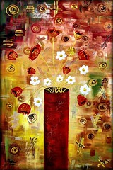 Bazaar Bouquet (peggygarr) Tags: trees snow art beach portraits nudes ebay sailing faces tulips contemporary paintings piano martini wallart mums originals musical costco poppies sailboats instruments interiordesign homedecor oilpainting vases artwanted gallerywrappedcanvas peggygarr peggygarrgallery