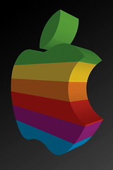 3d apple iphone wallpaper