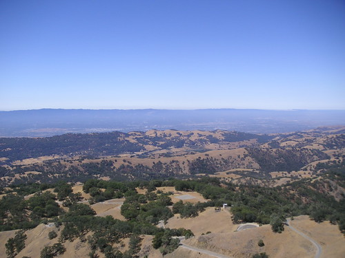 San Jose from Mt.Hamilton