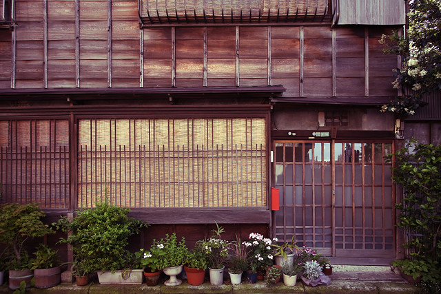 古の日本家屋