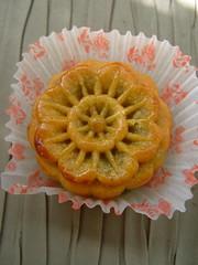 Meiana Moon Cake (bunbunlife) Tags: moon green cake portland dessert market tea chinese bakery kawaii sweets treat matcha fubonn meiana