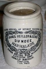 Dundee Marmalade jar (Will S.) Tags: ontario canada container wellington jar mypics marmalade princeedwardcounty thecounty dundeemarmalade wellingtonheritagemuseum jameskeillersons jameskeillerandsons